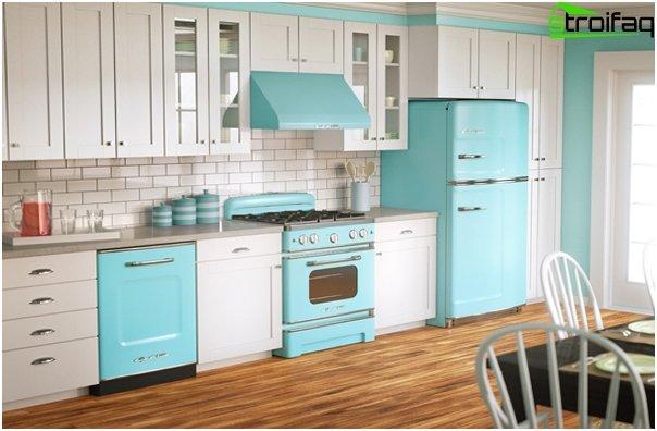 Tile in kitchen interior - 6