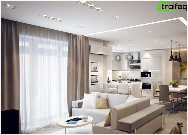 Design apartment in 2016 (light colors) - 1