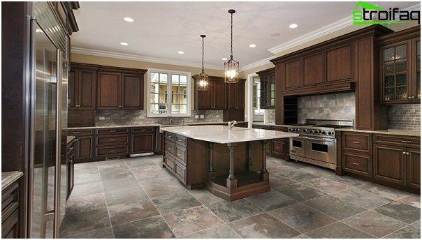Tiles for kitchen (ceramic) - 3