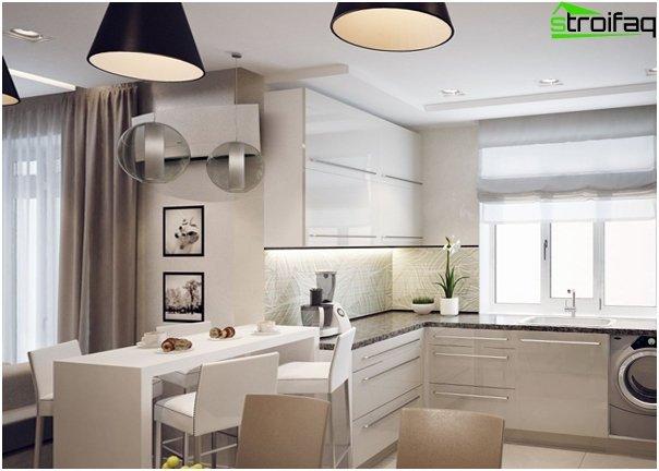 Design apartment in 2016 (light colors) - 3