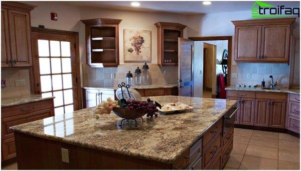 Tiles for kitchen (ceramic) - 5