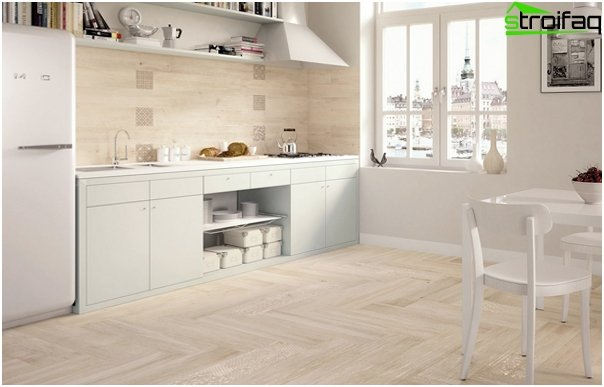 Tiles for kitchen (ceramic) - 6