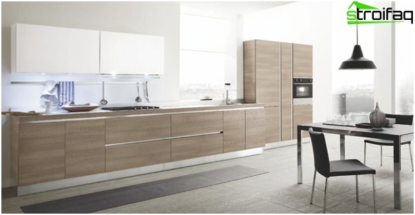Kitchen set (linear layout) - 2