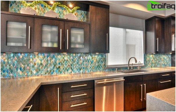 Tiles in interior of the kitchen (ceramic) - 1