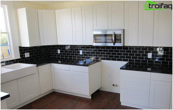 Tiles for kitchen (stoneware) - 1