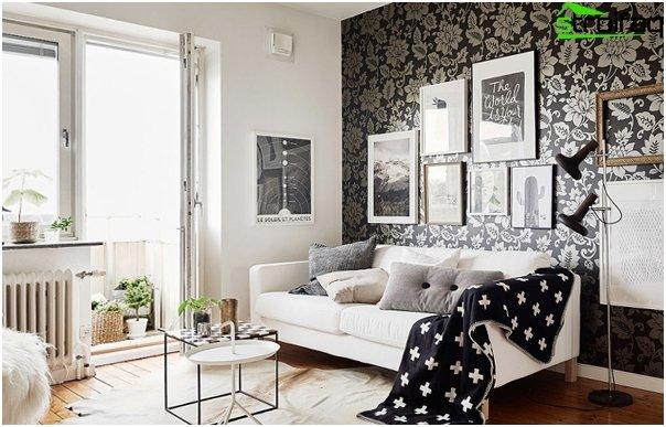 Design apartment in 2016 (dark colors) - 1