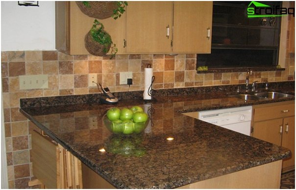 Tiles for kitchen (stoneware) - 3