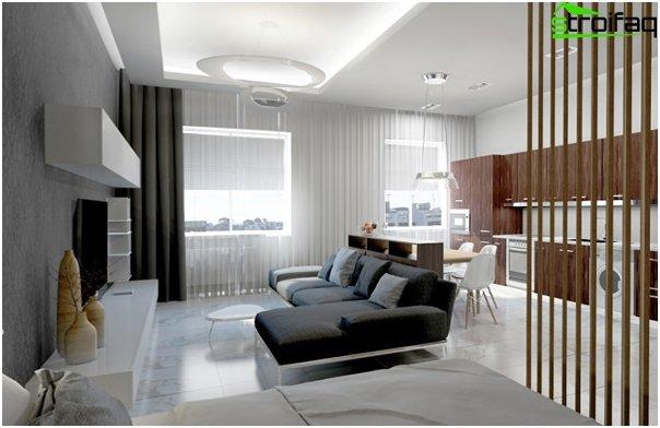 Design apartment in 2016 (dark colors) - 2