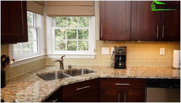 Tiles for kitchen (stoneware) - 4
