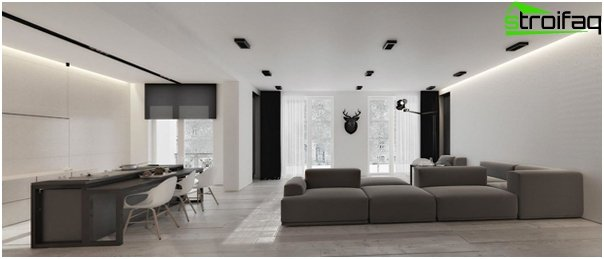 Design apartment in 2016 (dark colors) - 3
