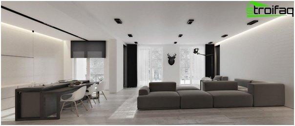 Design apartment in 2016 (dark colors) - 3