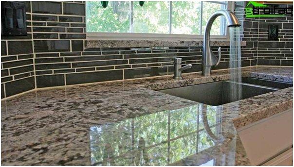 Tiles for kitchen (stoneware) - 5