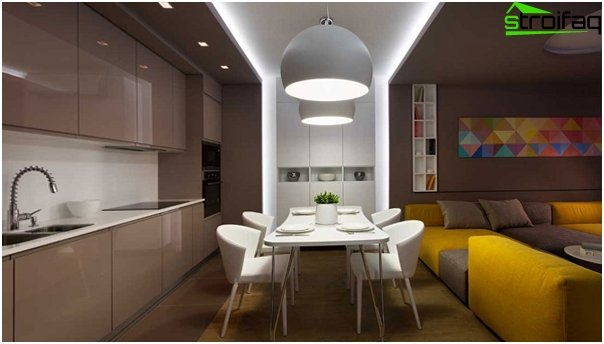 Design apartment in 2016 (dark colors) - 4