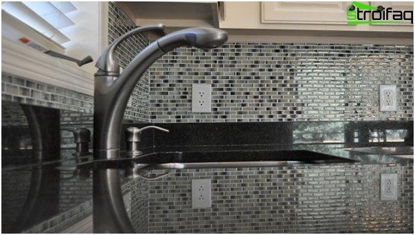 Tiles for kitchen (stoneware) - 6