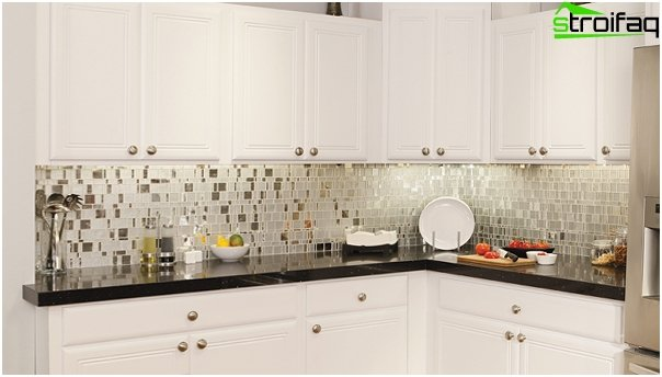 Tile in kitchen interior (stoneware) - 1