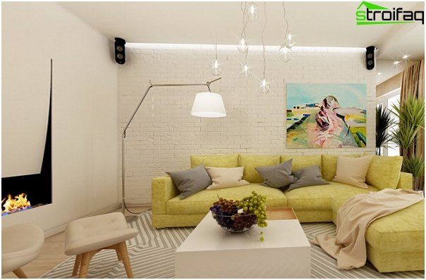 Design apartment in 2016 (natural tones) - 1