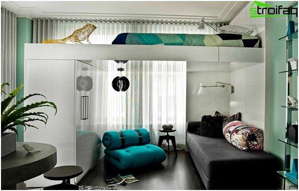 Design apartment in 2016 (natural tones) - 3