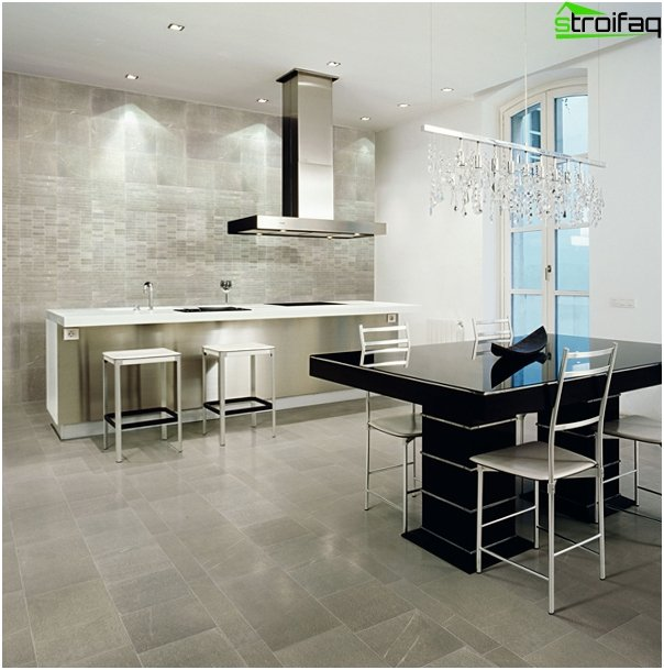 Tiles for kitchen (stone) - 2