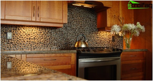 Tiles for kitchen (stone) - 3