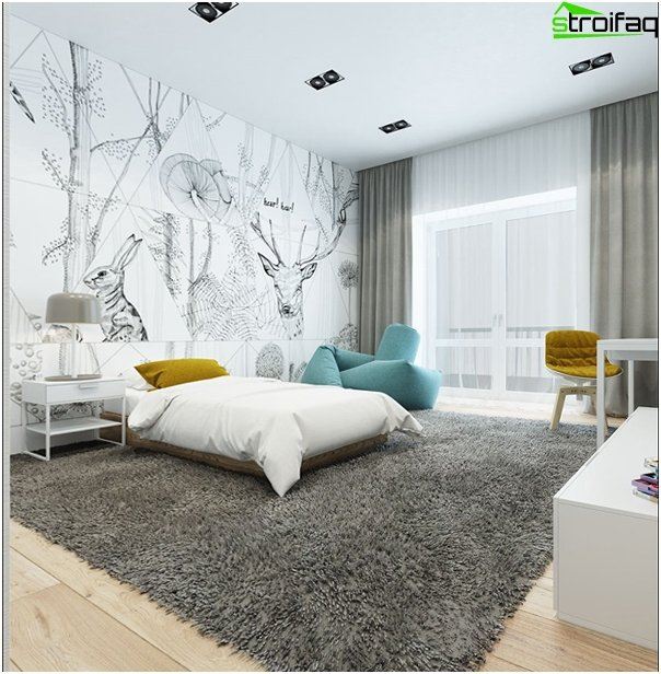 Design apartment in 2016 (natural tones) - 7