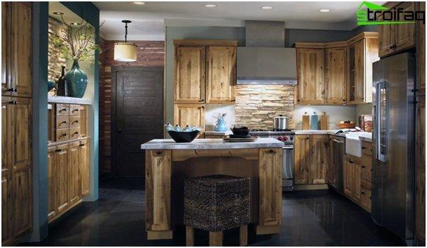 Tiles for kitchen (stone) - 6