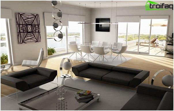 Design apartment in 2016 (furniture) - 1