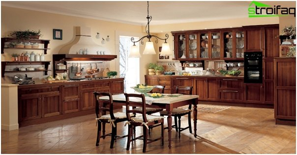 Kitchen in classical style - 1