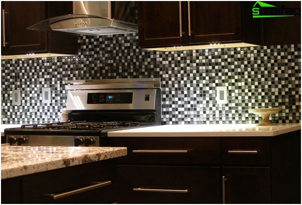 Tiles for kitchen (inlays) - 2