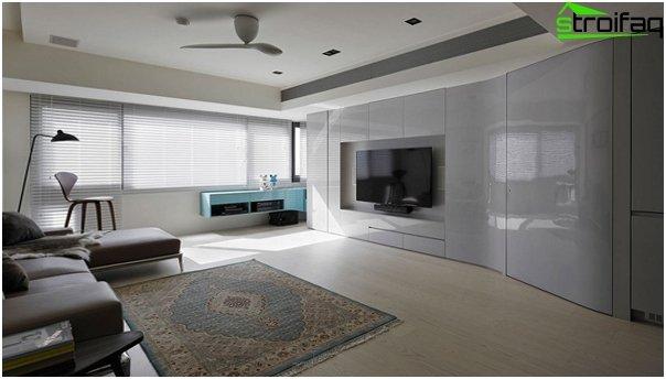 Design apartment in 2016 (minimalism) - 2