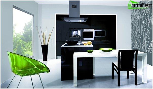 Кухня в стиле минимализма -3