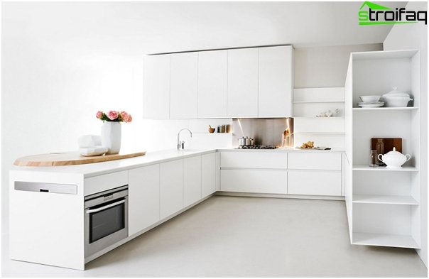 Kitchen in the style of minimalism - 4
