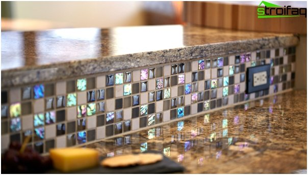 Tiles for kitchen (inlays) - 6