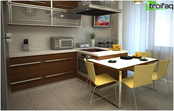 Kitchen set (12-15 square meters) - 2