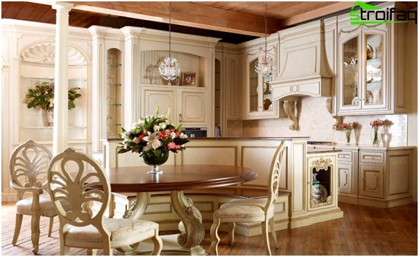 Kitchen in the style of Provence -2