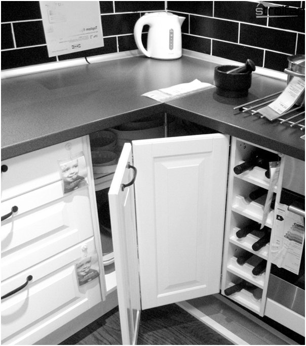 Corner kitchen from Ikea - 2
