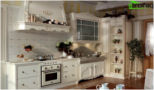 Kitchen in the style of Provence - 5
