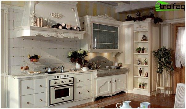 Кухня в стиле прованс-5