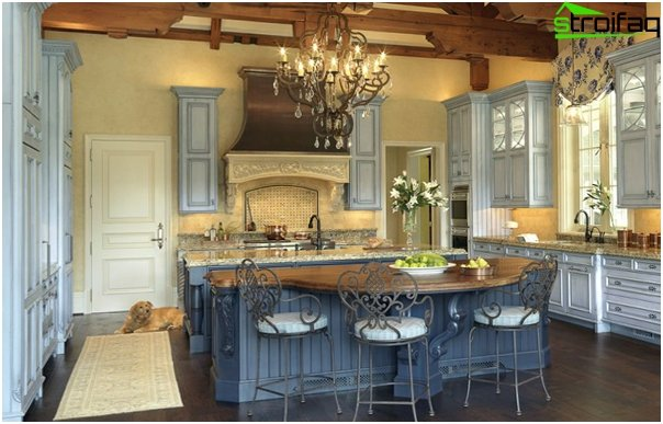 Kitchen in the style of Provence - 6