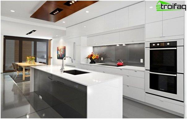 Кухня в стиле hi-tech -3