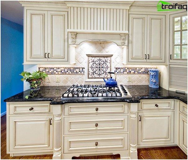 Visgraat tegels keuken - Keuken platform ...