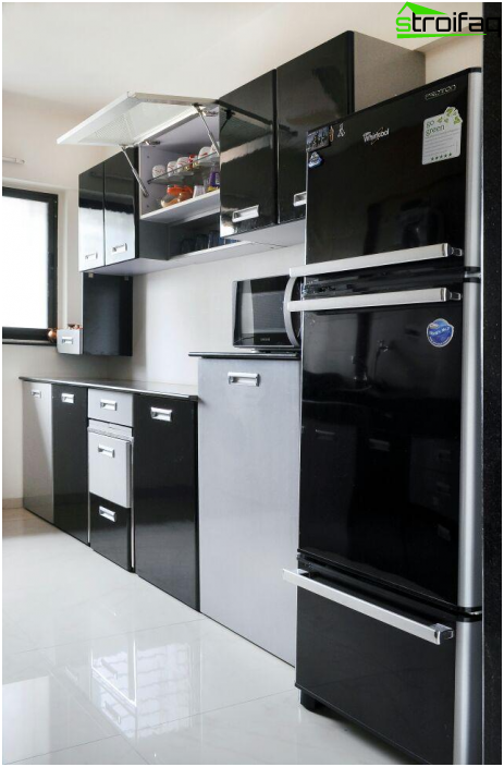 Kitchen in the style of hi-tech - 6