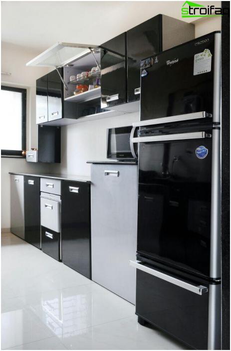 Кухня в стиле hi-tech-6