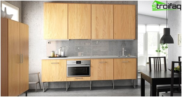 Linear kitchen from Ikea - 2