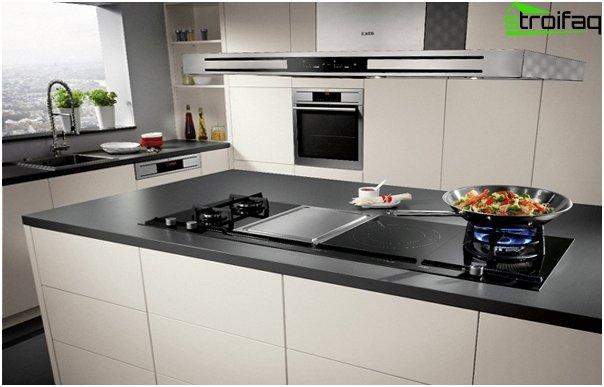 Кухня в стиле hi-tech-7