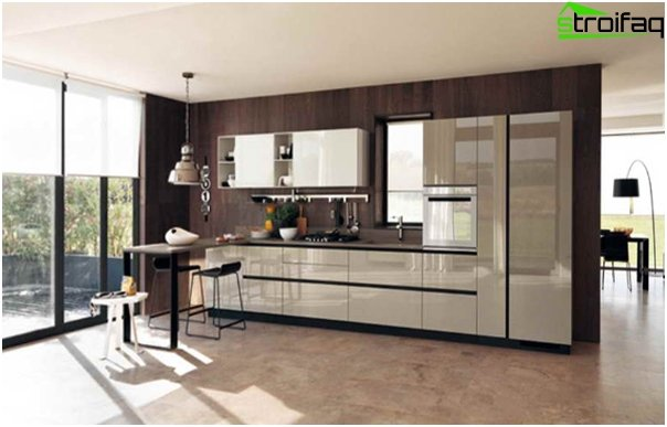 Kitchen furniture from Ikea (linear layout) - 4