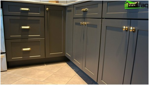 Tile in kitchen interior (floor) - 5