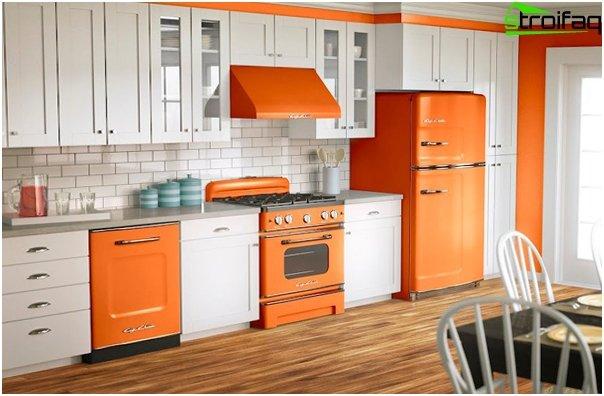 Кухня в желтой тоне-5