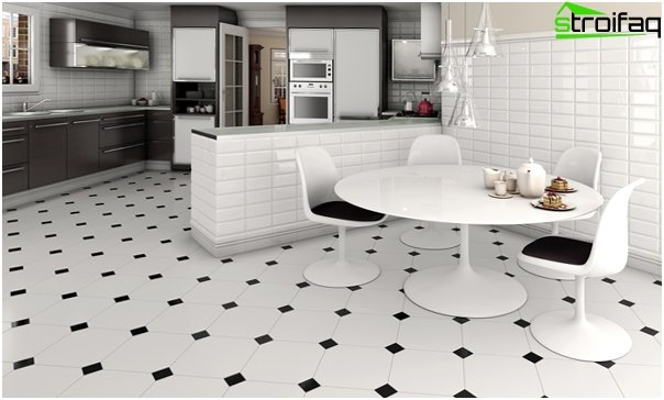 Tiles for kitchen (floor) - 1