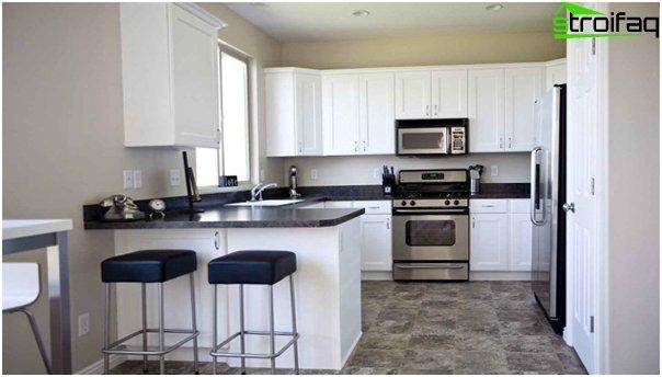 Tiles for kitchen (floor) - 2