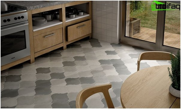 Tiles for kitchen (floor) - 4